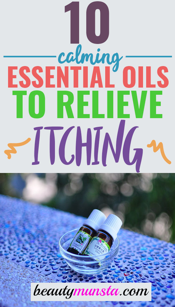 essential oils for itching skin